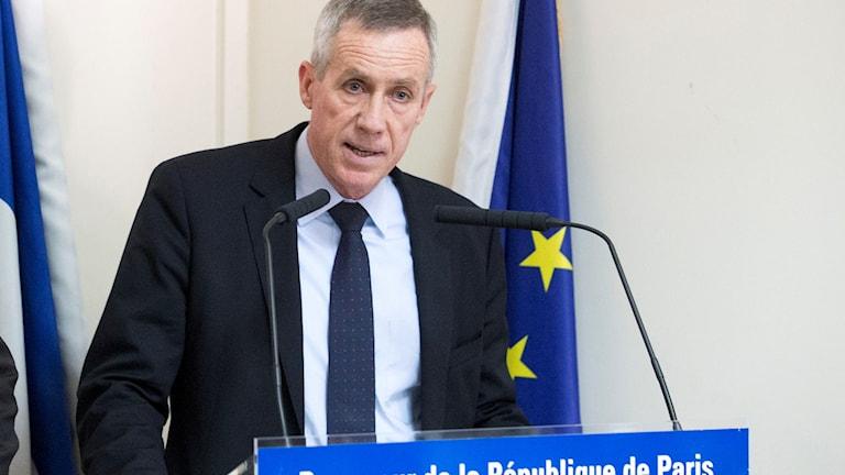 Fransk terroriståklagare.