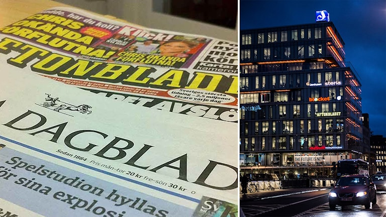 Tidningar och mediehuset Schibstedts
