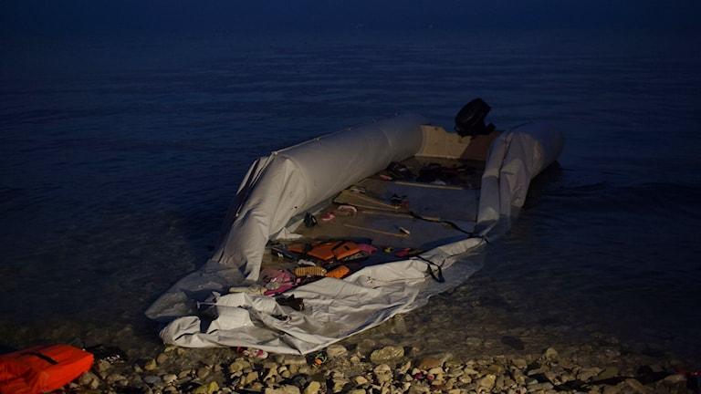 Trots nya regler har det under dagen kommit båtar till Lesbos.