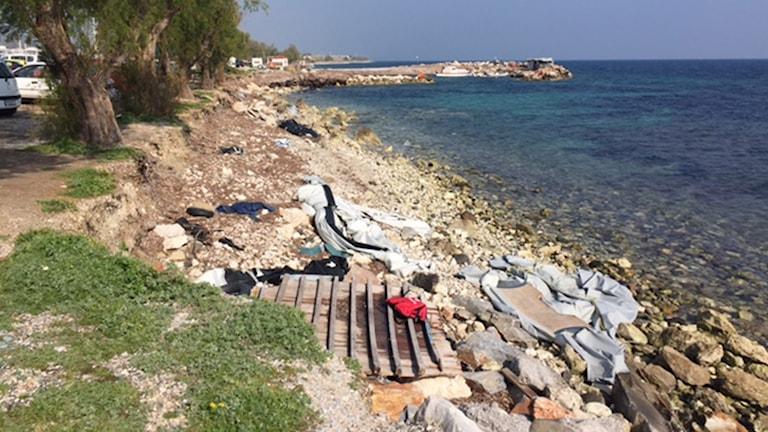 Lesbos strand
