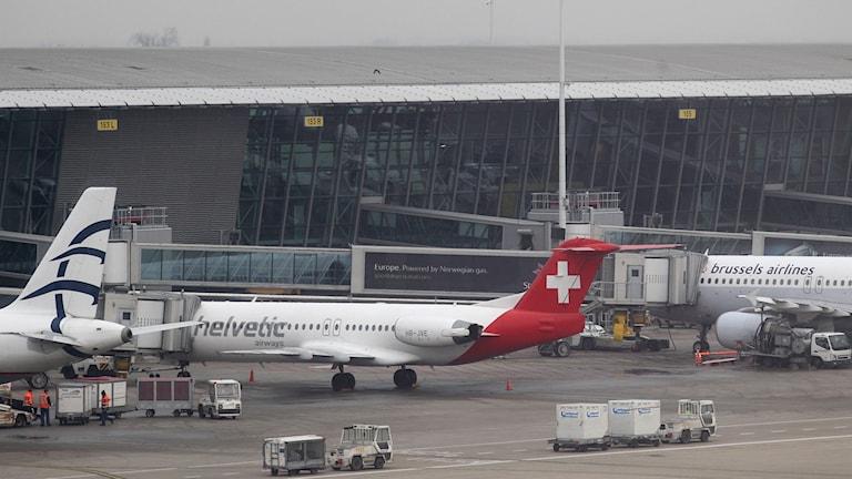 Bryssels flygplats.