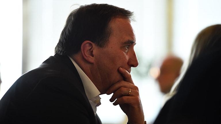 Statsminister Stefan Löfven (S)