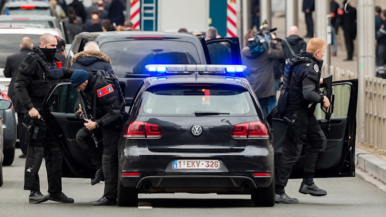 Belgisk polis.