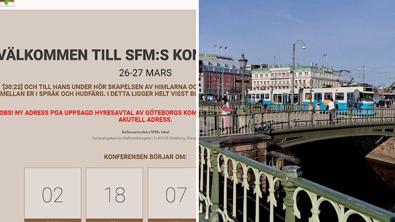 Göteborgs kommun stoppar uthyrning av lokal till konferens för muslimer.