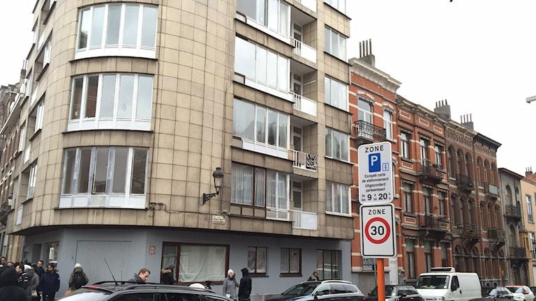 Hus i Shaerbeek, Bryssel.