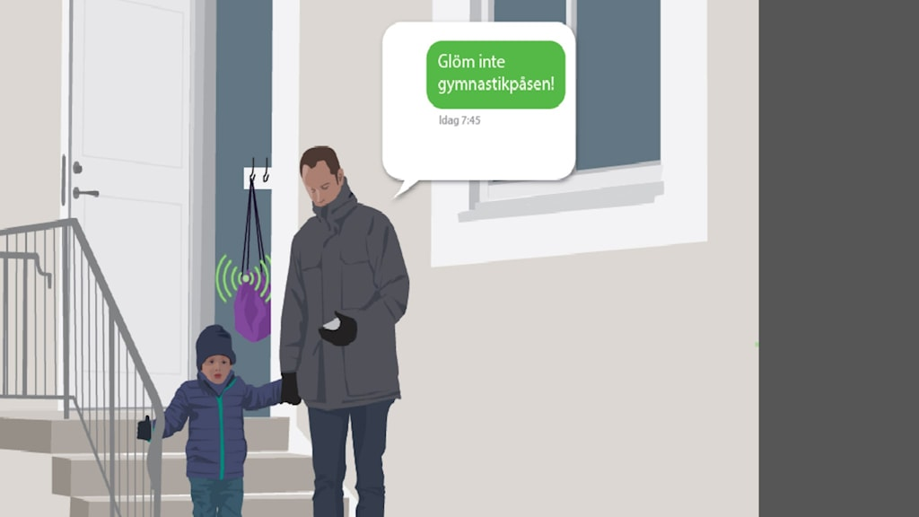 illustration smart gympapåse