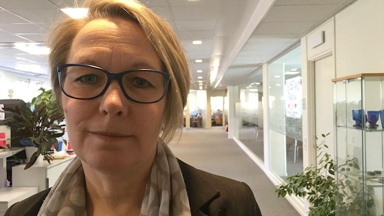 Anna-Karin Johansson, Secretary General of the Swedish Afghanistan Committee, Photo: Gilda Hamidi-Nia/Sveriges Radio.