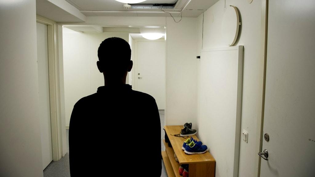 Flyktingboende för ensamkommande barn.