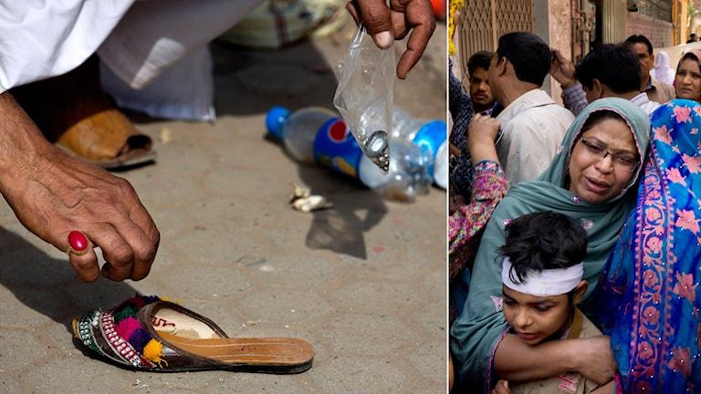 Dagen efter terrorattackerna har en hårdför islamistisk organisation tagit på sig skulden. Foto: B.K Bangash