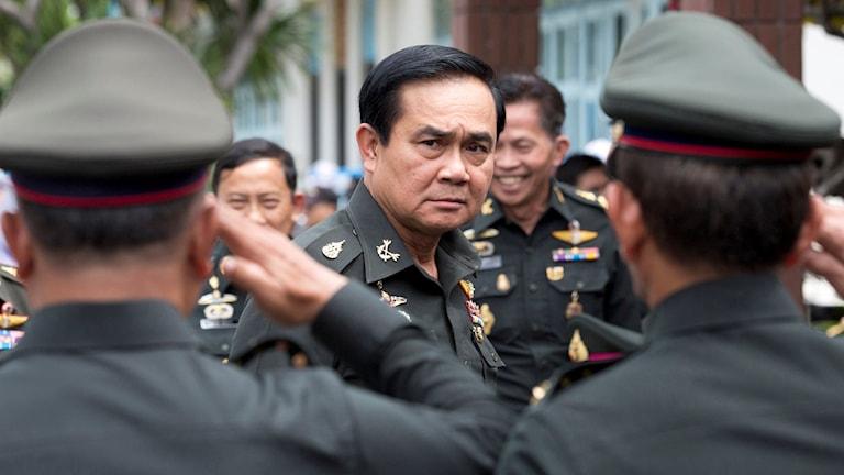 Thailands premiärminister Prayuth Chan-ocha.