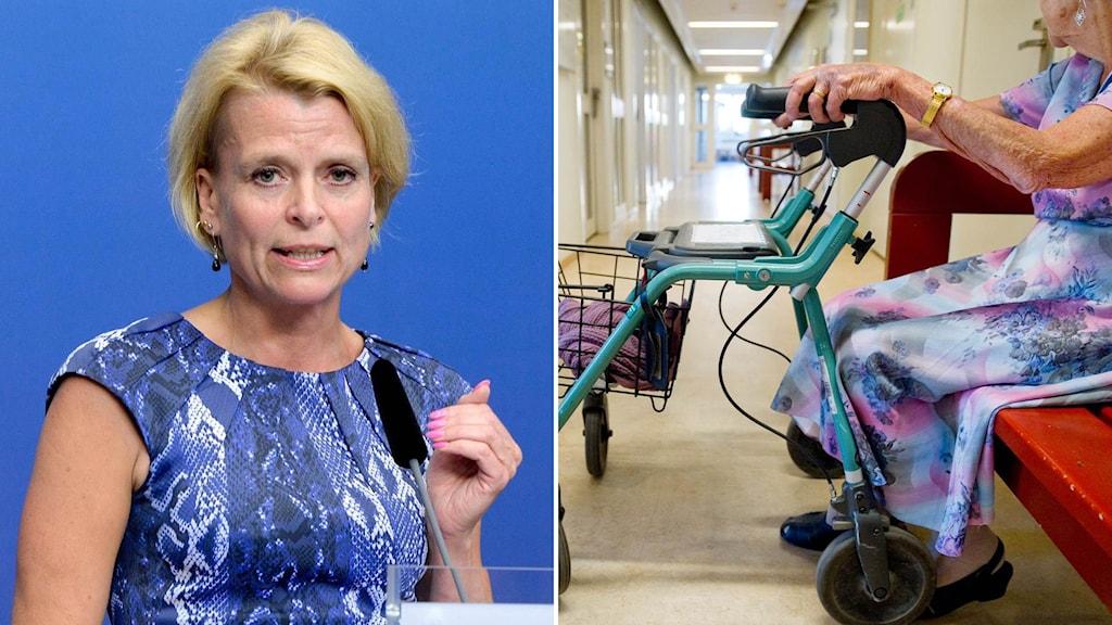 Jämställdhetsminister Åsa Regnér.