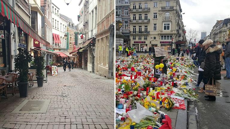 Tomma turistkvarter en vecka efter attackerna.