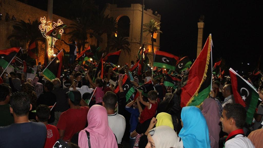 Kortvarig glädje efter första fria valet i Libyen  2012