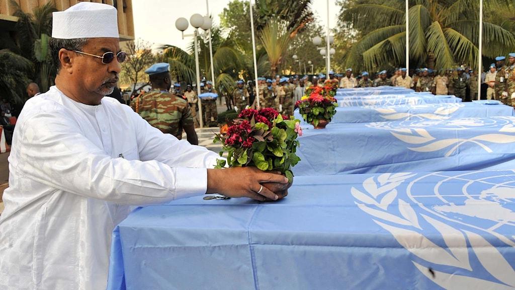 Mahamat Saleh Annadif, chef för FN-insatsen i Mali.