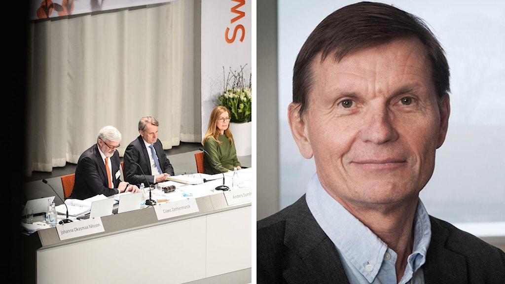 Swedbanks årsstämma och Ekonomiekots chef Sören Granath