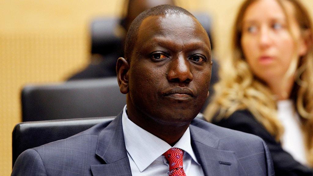 Kenyas vice president William Ruto.