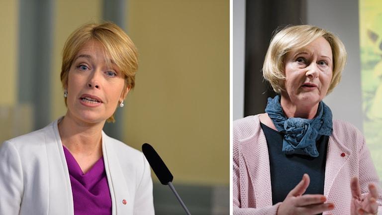 Annika Strandhäll och Lena Micko