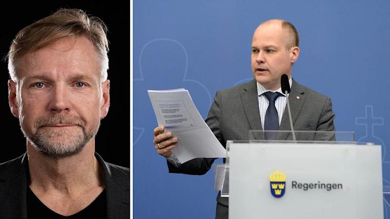 Tomas Rambergs analys efter pressträff med migrationsminister Morgan Johansson