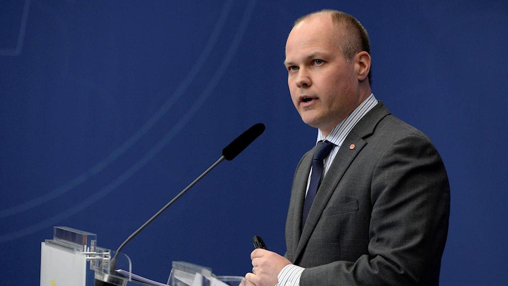 Migrationsminister Morgan Johansson