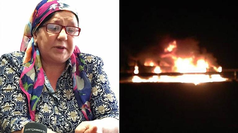 Gymnasieläraren Luisa Ahmedovas son torterades i polishäkte i Tjetjenien.