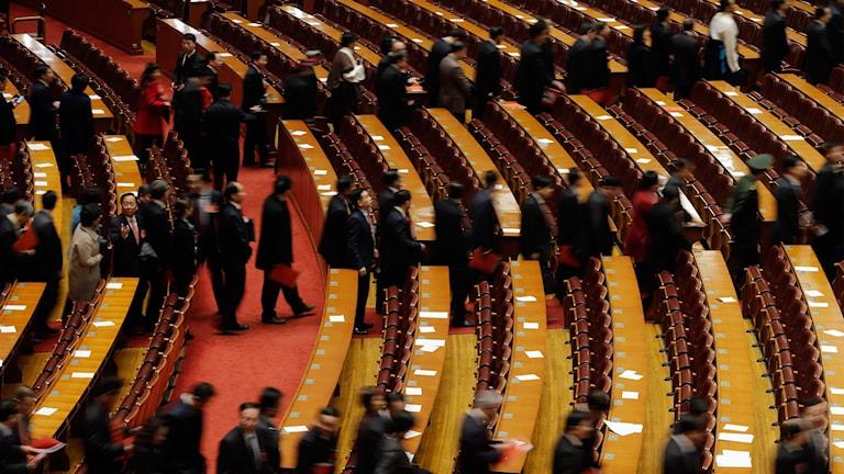 Folkets stora hall i Peking.