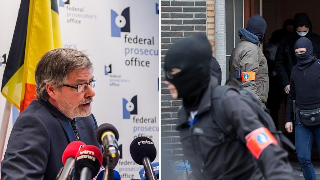 Belgiska åklagaren Eric Van Der Sypt.