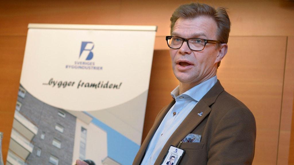 Ola Månsson, vd för Sveriges Byggindustrier