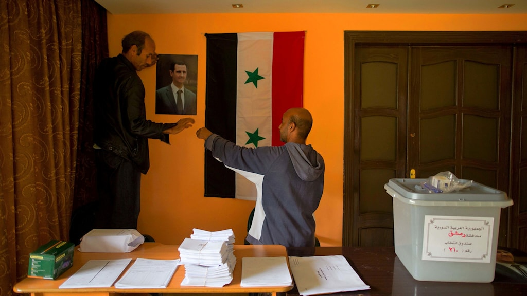 Valarbetare i Damaskus