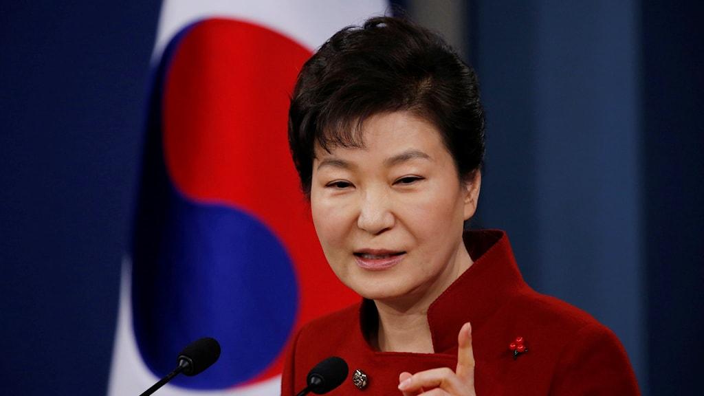 Sydkoreas president Park Geun-hye