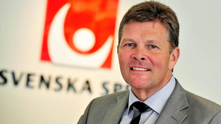 Lennart Käll, vd för Svenska spel.