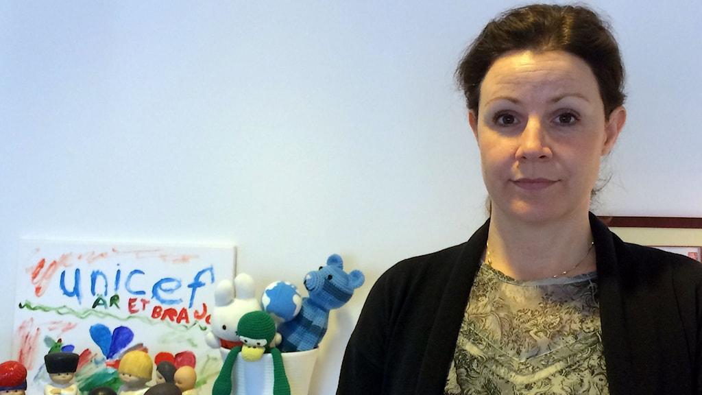 Christina Heilborn, programchef UNICEF Sverige