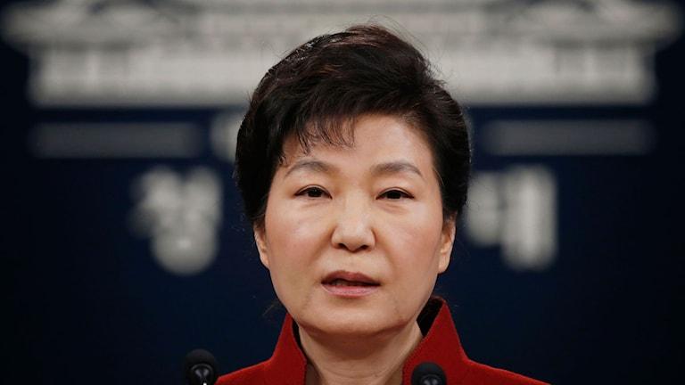 President Park Geun-hye.