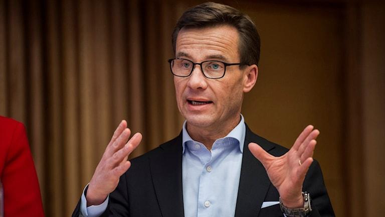 Ulf Kristersson ekonomisk-politisk talesperson för Moderaterna.