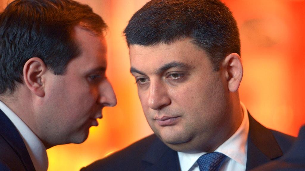 Volodymyr Hrojsman blir Ukrainas nye premiärminister.