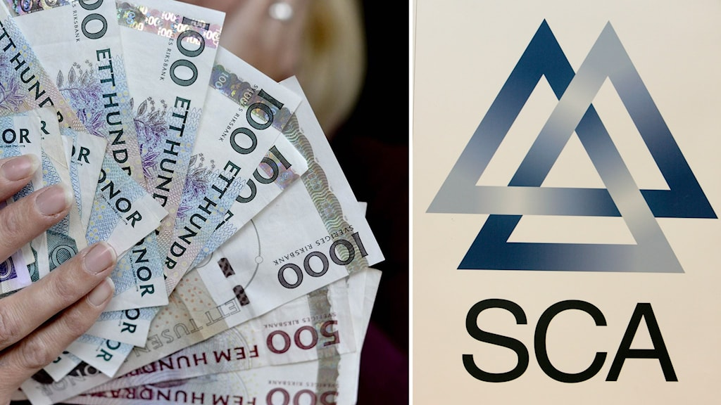 SCA och pengar.