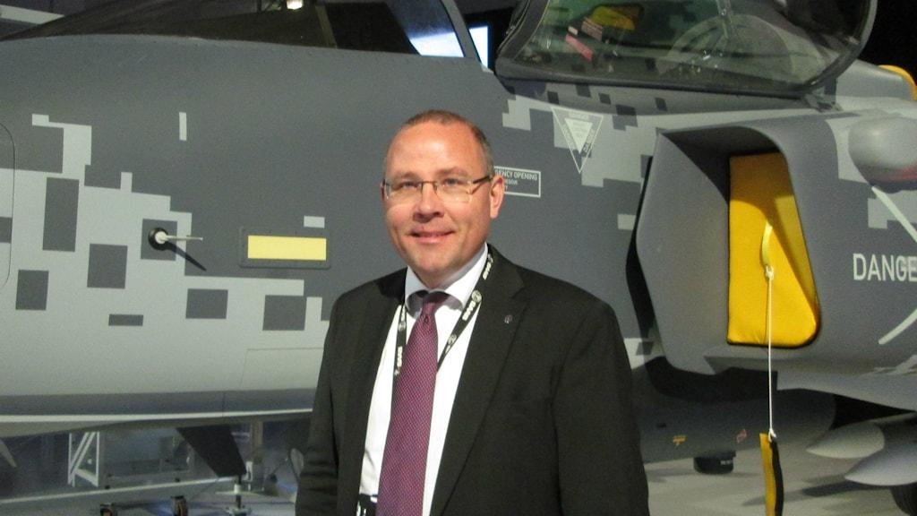 Håkan Buskhe, VD och koncernchef SAAB AB