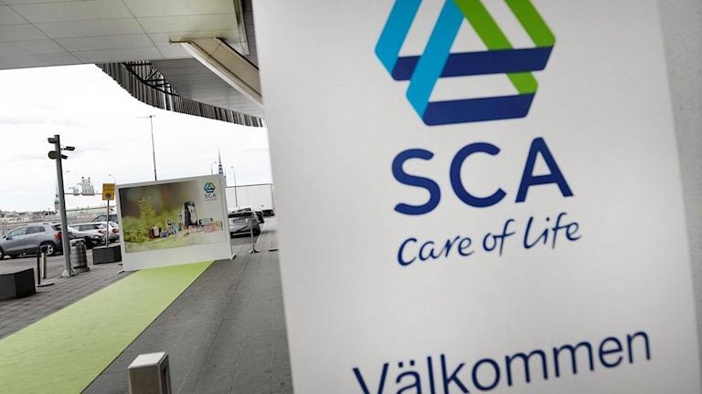 SCA-skylt