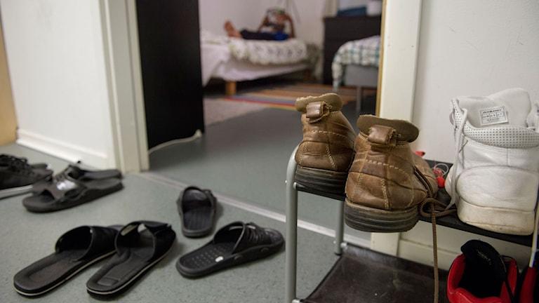 Hem för ensamkommande barn och ungdomar. Foto: Jessica Gow.