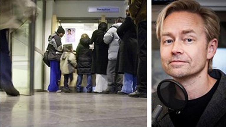 Fredrik Furtenbach om resultatet av SOM-undersökning Foto: Pablo Dalence/Sveriges Radio och TT