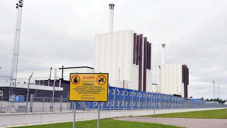 Forsmark kärnkraftverk.