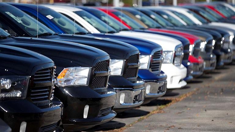 Fiat Chrysler bilar