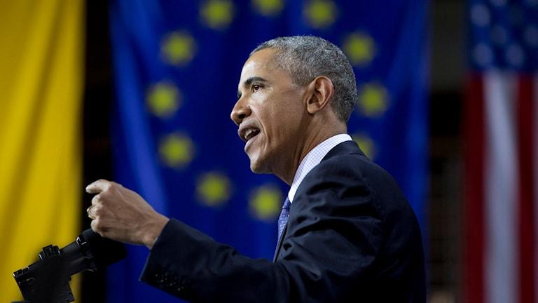 President Obama talade om öppenhet i Berlin.