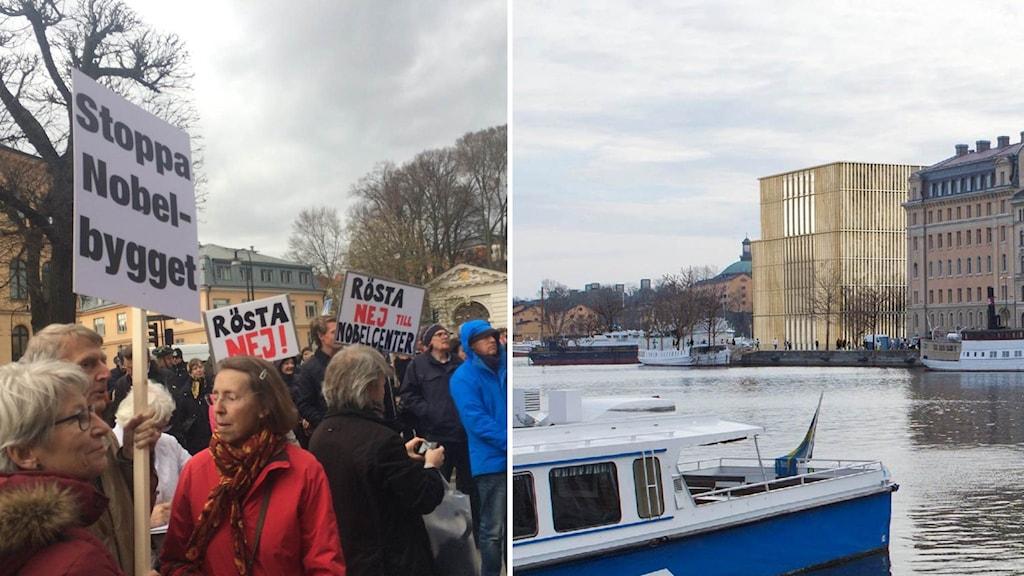 Protesterna har pågått länge mot det omstridda bygget.