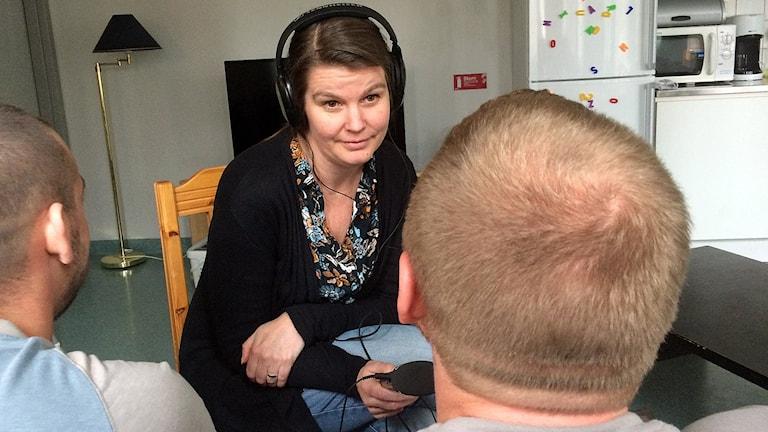 Ekots Henrika Åkerman intervjuar intagna på Österåkeranstalten som nyligen fått diagnosen adhd i Kriminalvårdens projekt.