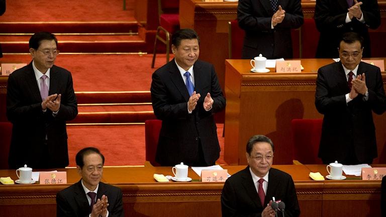 Xi Jinping i Nationella folkkongressen