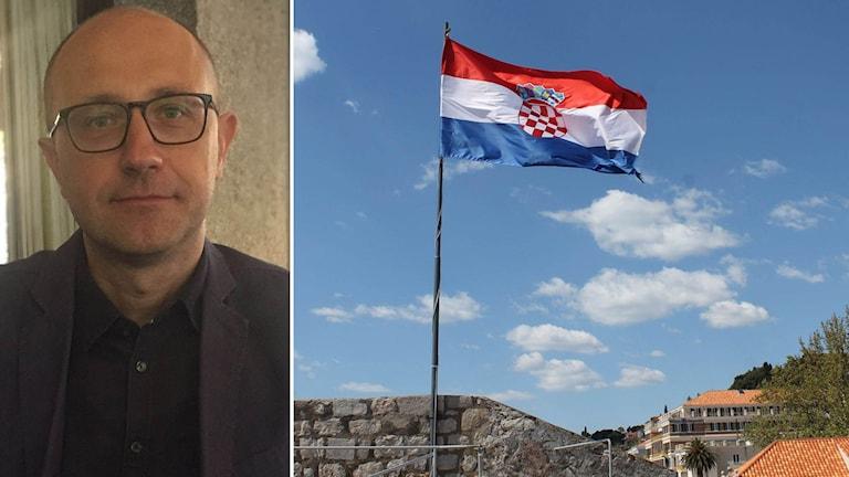 Journalisten Tomislav Klauski är rädd för att Kroatien håller på att utvecklas i ungersk riktning när det gäller demokrati.