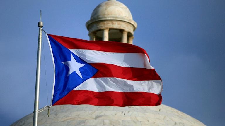 Puerto Ricos flagga