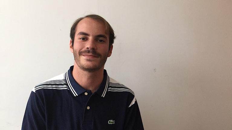 Ekonomistudenten Jorge Marquez i Venezuela.