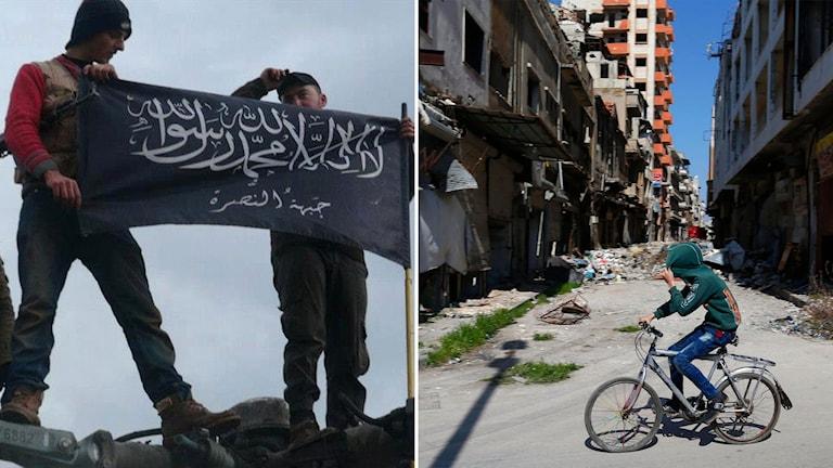 Utsatthet och hämndbegär driver många unga till IS och Nusrafronten enligt en ny studie.