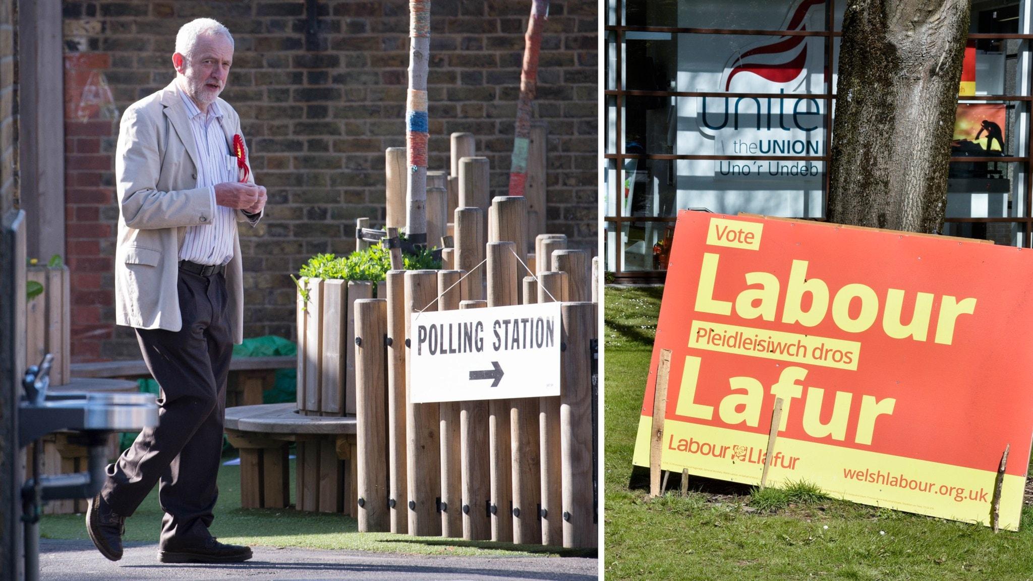 Labour leder i storbritannien